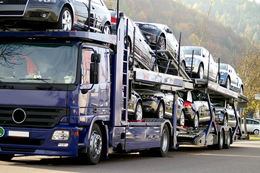 Autotransport-PKW-Transport